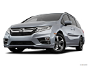 2019 Honda Odyssey Touring, front angle view, low wide perspective.
