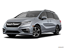 2019 Honda Odyssey Touring, front angle medium view.