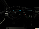 "2019 Honda Odyssey Touring, centered wide dash shot - ""night"" shot."