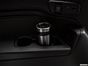 2019 Honda Odyssey Touring, third row side cup holder with coffee prop.