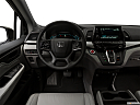 2019 Honda Odyssey Touring, steering wheel/center console.