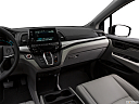 2019 Honda Odyssey Touring, center console/passenger side.