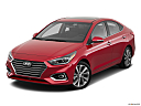 2019 Hyundai Accent Limited, front angle view.