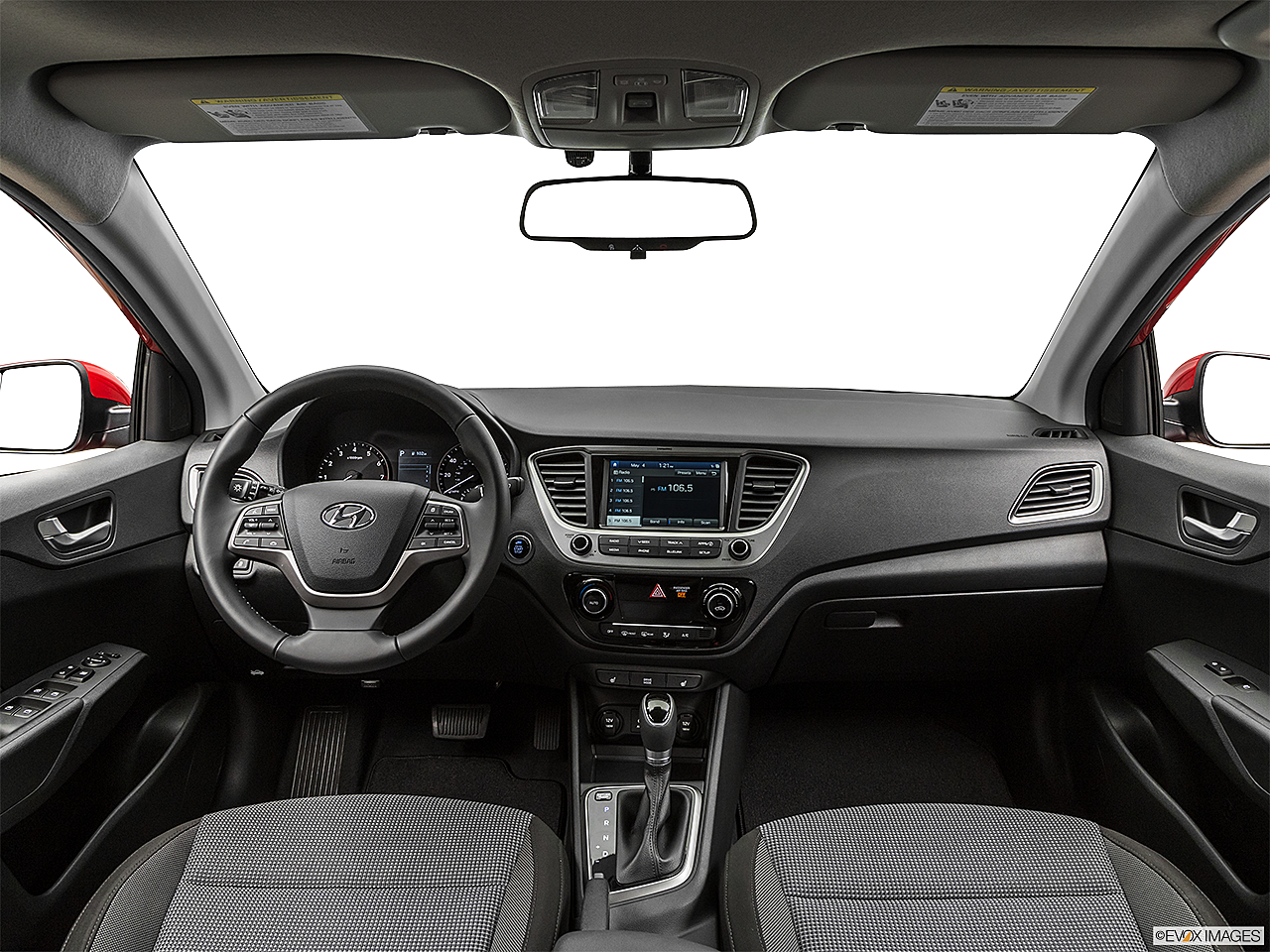2019 Hyundai Accent Limited, centered wide dash shot