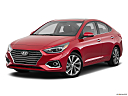 2019 Hyundai Accent Limited, front angle medium view.