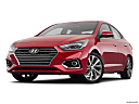 2019 Hyundai Accent Limited, front angle view, low wide perspective.