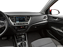 2019 Hyundai Accent Limited, center console/passenger side.