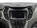 2019 Hyundai Santa FE XL SE, closeup of radio head unit