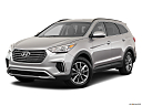 2019 Hyundai Santa FE XL SE, front angle medium view.