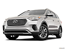 2019 Hyundai Santa FE XL SE, front angle view, low wide perspective.