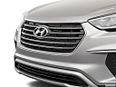 2019 Hyundai Santa FE XL SE, close up of grill.