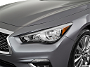 2019 Infiniti Q50 Luxe, drivers side headlight.