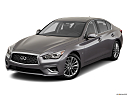2019 Infiniti Q50 Luxe, front angle view.