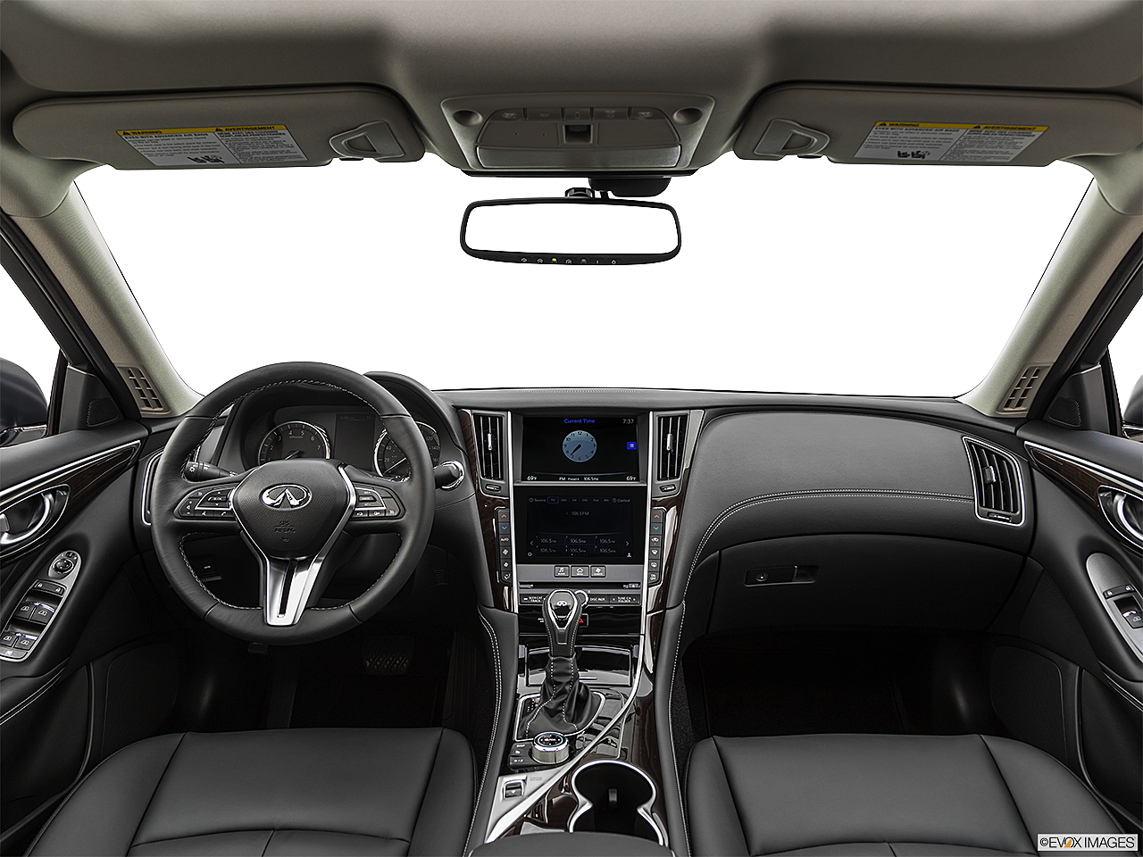 2019 Infiniti Q50 Luxe, centered wide dash shot