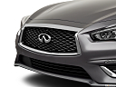 2019 Infiniti Q50 Luxe, close up of grill.
