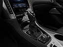 2019 Infiniti Q60 3.0t LUXE, gear shifter/center console.
