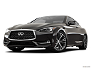 2019 Infiniti Q60 3.0t LUXE, front angle view, low wide perspective.