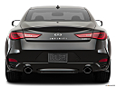 2019 Infiniti Q60 3.0t LUXE, low/wide rear.
