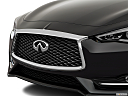 2019 Infiniti Q60 3.0t LUXE, close up of grill.