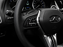 2019 Infiniti Q60 3.0t LUXE, steering wheel controls (left side)