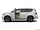2019 Infiniti QX80 Luxe 4WD, driver's side profile with drivers side door open.
