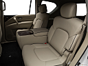 2019 Infiniti QX80 Luxe 4WD, rear seats from drivers side.