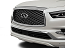 2019 Infiniti QX80 Luxe 4WD, close up of grill.