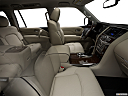 2019 Infiniti QX80 Luxe 4WD, fake buck shot - interior from passenger b pillar.