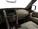 2019 Infiniti QX80 Luxe 4WD, center console/passenger side.