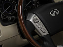 2019 Infiniti QX80 Luxe 4WD, steering wheel controls (left side)