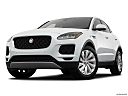 2019 Jaguar E-Pace S, front angle view, low wide perspective.