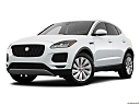 2019 Jaguar E-Pace S, front angle medium view.