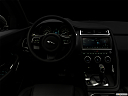 "2019 Jaguar E-Pace S, centered wide dash shot - ""night"" shot."