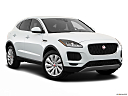 2019 Jaguar E-Pace S, front passenger 3/4 w/ wheels turned.