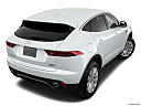 2019 Jaguar E-Pace S, rear 3/4 angle view.