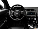 2019 Jaguar E-Pace S, steering wheel/center console.