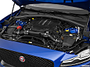 2019 Jaguar F-Pace S, engine.