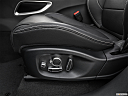 2019 Jaguar F-Pace S, seat adjustment controllers.