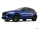 2019 Jaguar F-Pace S, low/wide front 5/8.