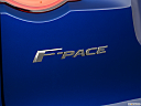 2019 Jaguar F-Pace S, rear model badge/emblem