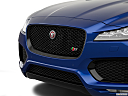 2019 Jaguar F-Pace S, close up of grill.
