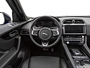 2019 Jaguar F-Pace S, steering wheel/center console.