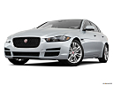 2019 Jaguar XE 25t Premium, front angle view, low wide perspective.