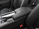2019 Jaguar XE 25t Premium, front center console with closed lid, from driver's side looking down