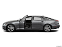 2019 Jaguar XJL Portfolio, driver's side profile with drivers side door open.