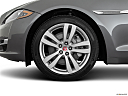 2019 Jaguar XJL Portfolio, front drivers side wheel at profile.