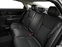 2019 Jaguar XJL Portfolio, rear seats from drivers side.
