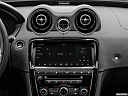 2019 Jaguar XJL Portfolio, closeup of radio head unit
