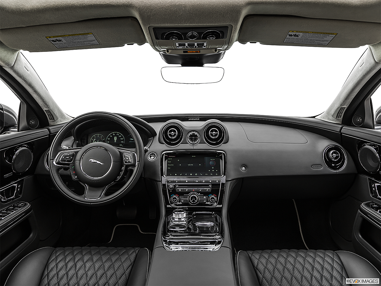2019 Jaguar XJL Portfolio, centered wide dash shot