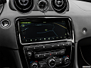 2019 Jaguar XJL Portfolio, driver position view of navigation system.